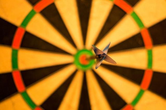 bullseye in darts